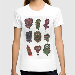 Ghoul Head Gallery T-shirt