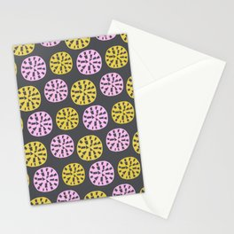 Sundial, 1950's inspired pattern Stationery Cards