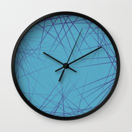 Lasers fractals spinicules sea urchins Wall Clock
