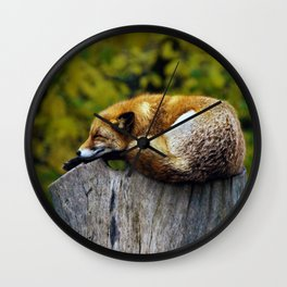 Cozy Spot Wall Clock