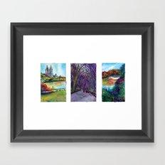 Central Park Trio Framed Art Print