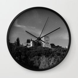 La alhambra Wall Clock