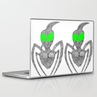 pinup Laptop & iPad Skins featuring Pinup by ..M..