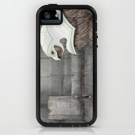 Beast and Girl iPhone Case