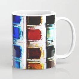 Watercolor Pallette Coffee Mug
