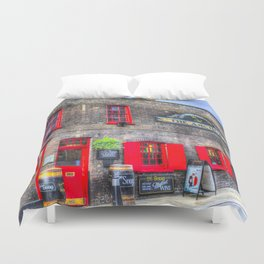 The Anchor Pub London Duvet Cover