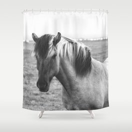 Pony Up Shower Curtain