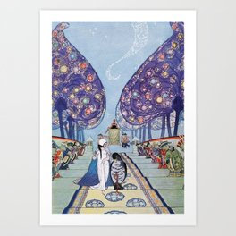 Stories by Mrs Molesworth Art Print