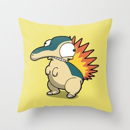 Pokémon - Number 155 Throw Pillow