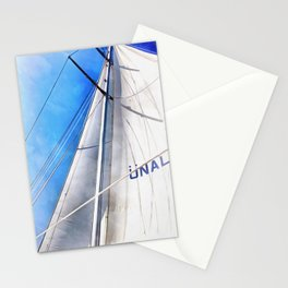 Keep The Wind In Your Sails Stationery Cards