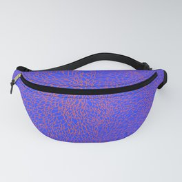 scales, orange on blue Fanny Pack
