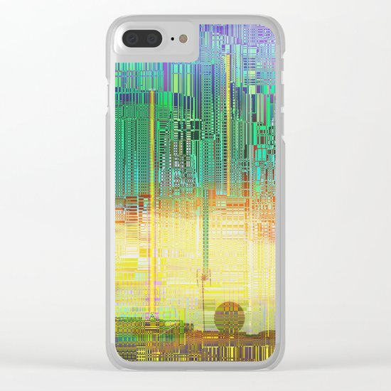Atlante / CITIES over CITIES Clear iPhone Case