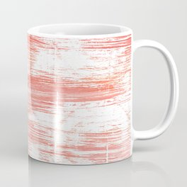 Light salmon pink abstract watercolor Coffee Mug