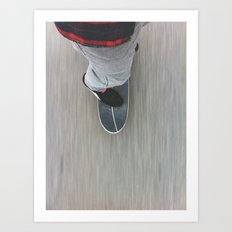 Skateboarding Art Print
