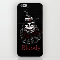 oz iPhone & iPod Skins featuring Oz -Red by artlandofme