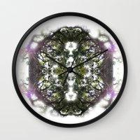 circle Wall Clocks featuring Circle by Ben Geiger