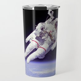 Astronaut on a Spacewalk Travel Mug