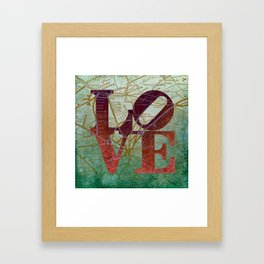 Chester County Love Framed Art Print