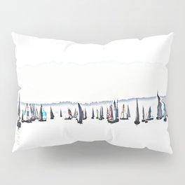 Summer Sailboats Pillow Sham