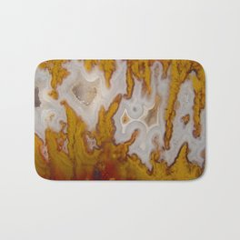 Cady Mountain Yellow Flame Agate Bath Mat