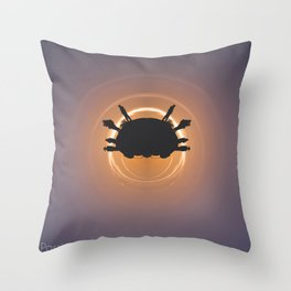 Desolate yet Inviting Throw Pillow