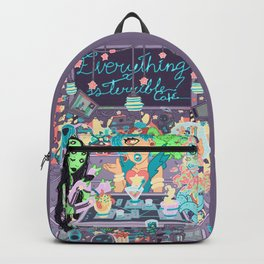 Everything is terrible café Backpack