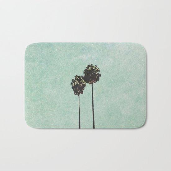 Brisbane Palm Trees Bath Mat