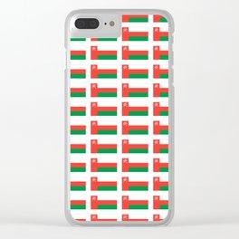 flag of oman ,عمان ,omani,Suwayq,muscat,dishdaska. Clear iPhone Case