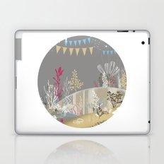 grey sea wonderland Laptop & iPad Skin