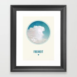 Freiheit Framed Art Print