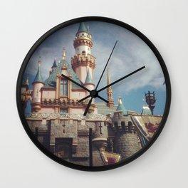 Sleeping Beauty's Castle Wall Clock