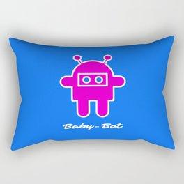 Baby-Bot Rectangular Pillow