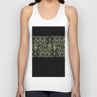 tigers Tank Tops featuring Tigers by Camille Hermant
