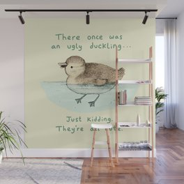 Ugly Duckling Wall Mural