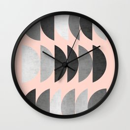 Minimalist fashion and golden II Wall Clock
