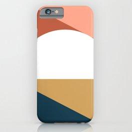 Mid Century Modern Sunset Nº1 iPhone Case