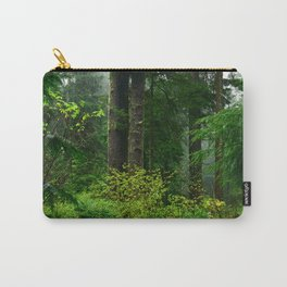 Mist Throughout the Forest Carry-All Pouch
