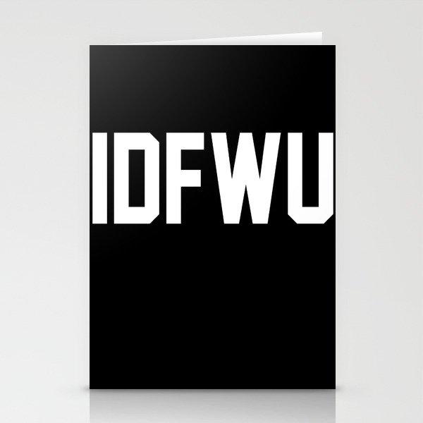 IDFWU Stationery Cards