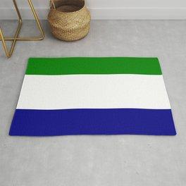 Flag of Sierra Leone Rug