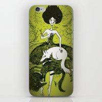 dress iPhone & iPod Skins featuring Dress by Oeilbleu