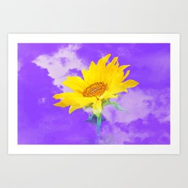 It's the sunflower Art Print