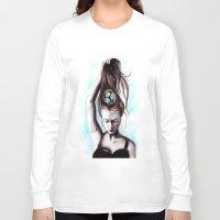 rapunzel Long Sleeve T-shirts featuring Rapunzel  by Bella Harris