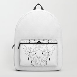 Mandala Sphynx Backpack