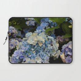 Blue Hydrangeas Laptop Sleeve