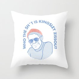 TEAM ZISSOU Klaus Daimler Throw Pillow