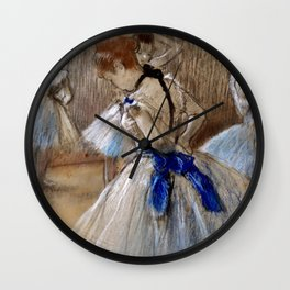 "Edgar Degas ""Dancer"" Wall Clock"