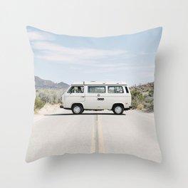 California Westafalia Throw Pillow