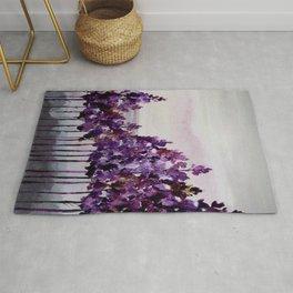 Purple Trees Rug