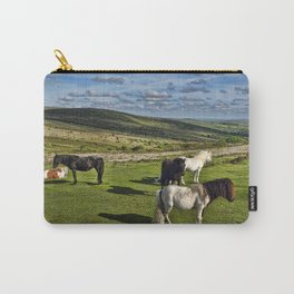 Dartmoor Wild Ponies Carry-All Pouch