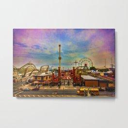 Luna-Park-a-Rama Metal Print